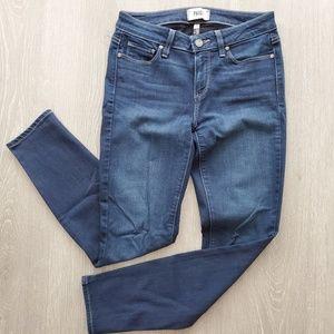 Paige Verdugo Ankle Skinny Jeans Size 28